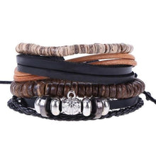 Load image into Gallery viewer, Simple Handmade Leather Bracelets - 17 - Bracelets
