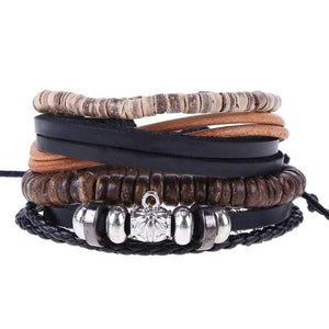 Simple Handmade Leather Bracelets - 17 - Bracelets