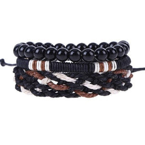 Simple Handmade Leather Bracelets - 18 - Bracelets