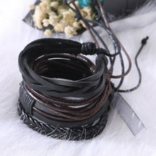 Load image into Gallery viewer, Simple Handmade Leather Bracelets - Bracelets