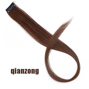 Single Clip In One Piece Hair Extensions - #30 / 24inches