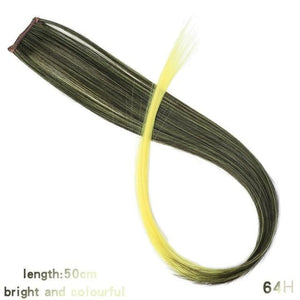 Single Clip In One Piece Hair Extensions - 64H / 24inches