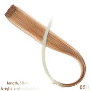 Single Clip In One Piece Hair Extensions - 65H / 24inches