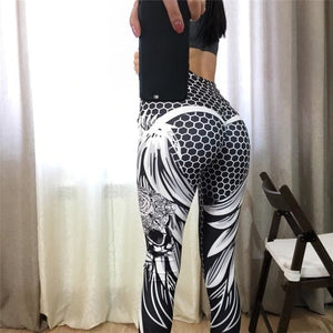 Skull Fitness Legging