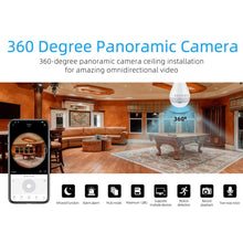 Load image into Gallery viewer, Snap LED 360 Security Cam
