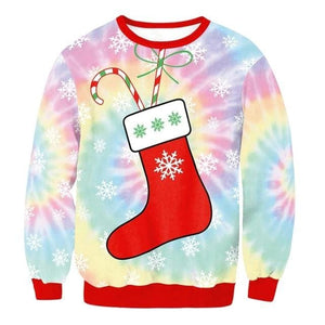 Ugly Christmas Sweater Unisex / Funny Sweaters - 022 / L