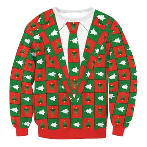 Ugly Christmas Sweater Unisex / Funny Sweaters - 026 / L