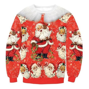 Ugly Christmas Sweater Unisex / Funny Sweaters - 027 / L