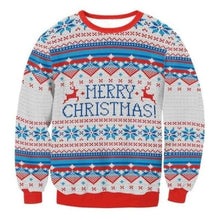 Load image into Gallery viewer, Ugly Christmas Sweater Unisex / Funny Sweaters - 030 / L