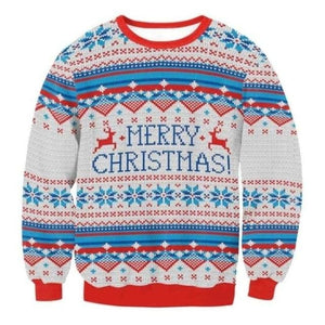 Ugly Christmas Sweater Unisex / Funny Sweaters - 030 / L