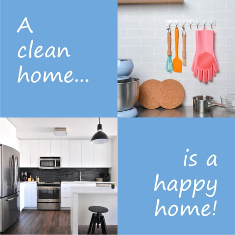 clean home happy home