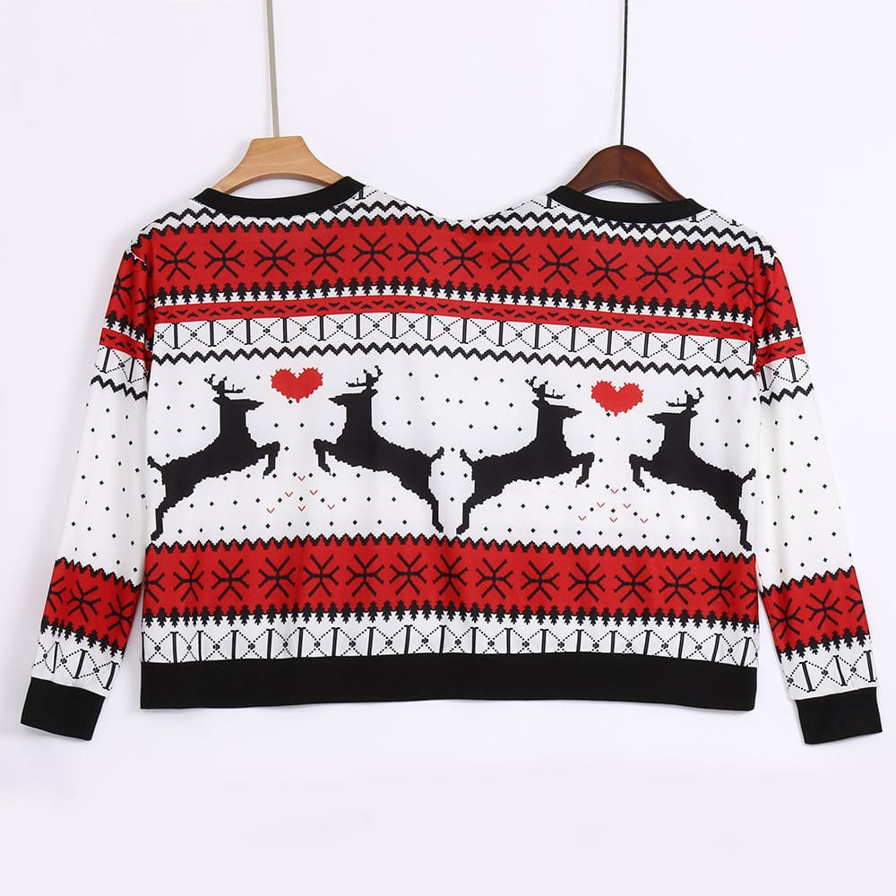 Couples Christmas Sweater / Ugly Sweater