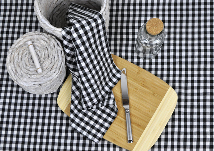 RANS Gingham Napkins 45x45cm - set of 4