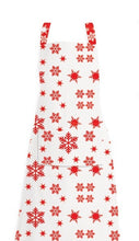 Load image into Gallery viewer, RANS Christmas Snow Flake Aprons With Pocket - 70 cm x 90 cm