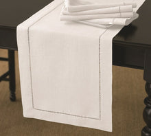 Load image into Gallery viewer, RANS Elegant Hemstitch Table Runners 100% Cotton