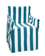 Load image into Gallery viewer, Stripy RANS Alfresco Director Chair Covers - Stripe Design - 100% Cotton