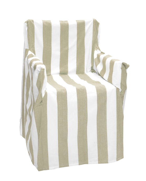 Stripy RANS Alfresco Director Chair Covers - Stripe Design - 100% Cotton