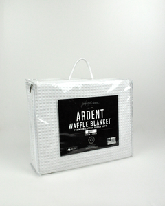 Jenny McLean Ardent Waffle Blankets Super Soft