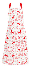 Load image into Gallery viewer, RANS Christmas Reindeer Aprons With Pocket