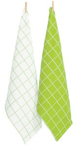 RANS Cambridge Waffle Tea Towels - set of 12