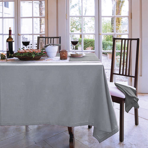 RANS Elegant Hemstitch Tablecloths 100% Cotton
