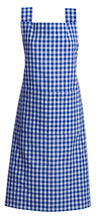 Load image into Gallery viewer, Gingham Check Aprons 100% Cotton by RANS