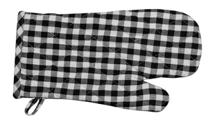2PC Gingham Oven Gloves 100% Cotton by RANS
