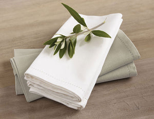 RANS Elegant Hemstitch Napkins - 45 cm x 45 cm - Set of 4