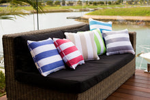 Load image into Gallery viewer, RANS Stripy Alfresco Cushion Covers stripe