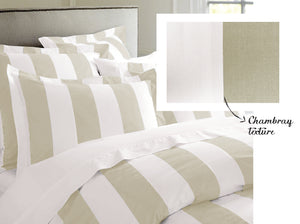 RANS Oxford Stripe Quilt Doona Cover Sets
