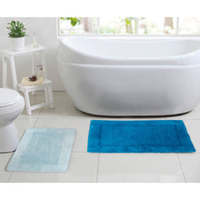Load image into Gallery viewer, RANS Waffle Bath Mats 100% cotton 2000GSM
