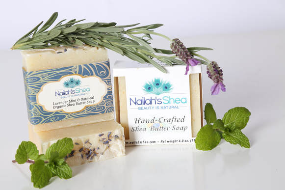 Lavender Mint Set - Nailah's Shea