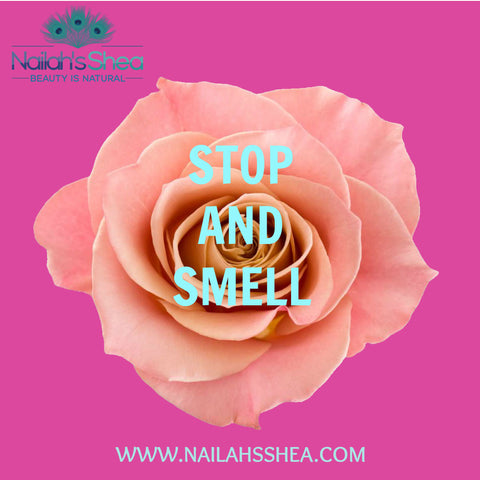 Stop and smell the roses - Nailah's Shea