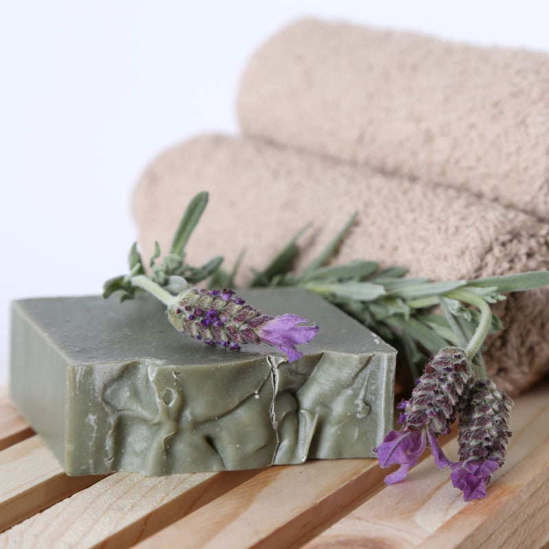 French Green Clay Shea Butter Soap - Shea Butter Soap Hand-Crafted - Men - Nailah's Shea