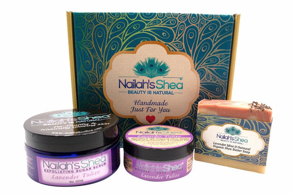 Gift Box: Relax and Unwind - Gift Boxes - Nailah's Shea