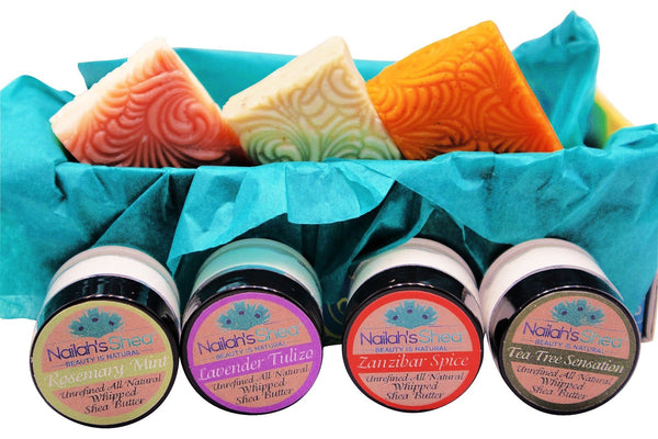 Lamu Sampler Gift Box - Gift Boxes - Men - Nailah's Shea