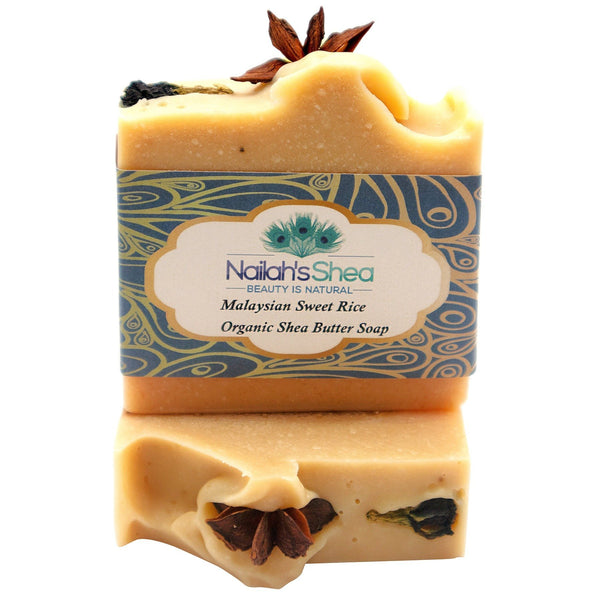 Malaysian Sweet Rice Shea Butter Soap - Nailah's Shea