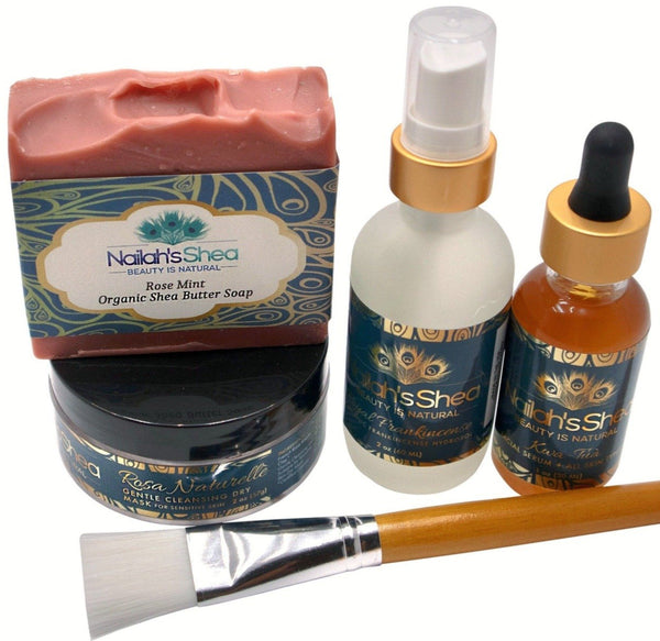 Rosa Naturelle Set - Sensitive Care - Nailah's Shea