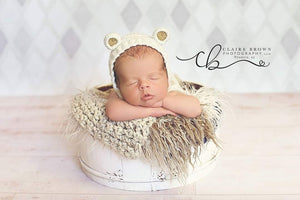 Baby Bear Set, Cotton-Blend