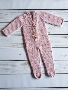 Newborn Footed Prop Outfit, Polyester