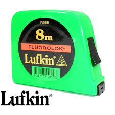 FL38SI12 - LUFKIN FLURO LOCK TAPE MEASURE