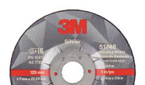 UU009017334 - 180x7mm 3M SILVER HP DISC
