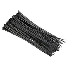 WB12100 - CABLE TIE 300x4.8mm BLK 100PK