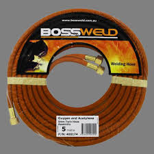 400175 - OXY/ACET HOSE 10M WITH FITTING