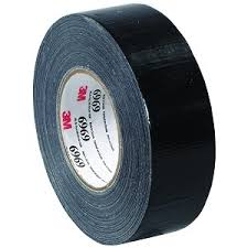 70006250230 - BLACK TAPE 50MM X 55M 6969