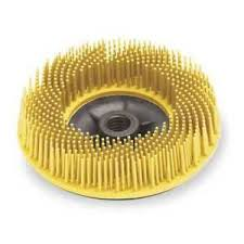 61500139029 - BRISTLE DISC 80G YELLOW 115MM