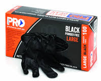 MDNPFHD-XL - BLACK NITRILE GLOVE HD XL 100P