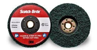 AC010295825 - 178mm S/B BLACK VELCRO DISC