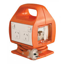 9321001370222 - ORANGE RCD BOX 4 OUTLET 10A