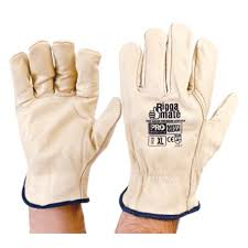CGL41DL - COWGRAIN RIGGERS GLOVES L